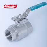 "1/4"" - 4"" Inch Thread Natural Oil and Gas Stainless Steel 304 Ball Valve"