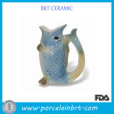 Jumping Carp China Ceramic Vase