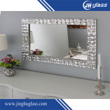 High Quality 2mm 4mm 6mm Silver Large Wall Mirror3mm 4mm 5mm 6mm Oval Bathroom Silver Mirror Price