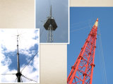 Cost-Effective Guyed Communication Lattice Steel Tower
