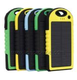 Outdoor Travel Waterproof Mobile Silicone Solar Power Bank