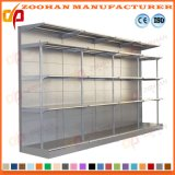 Warehouse Grocery Storage Stainless Steel Slotted Angle Supermarket Shelf (ZHS18)