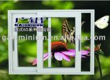 Powder-Coat Colorful Aluminium Sliding Glass Windows