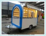 on Street Running Big Sales Window Mobile Buffet Car