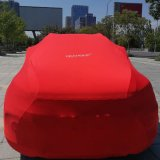 Yeahome Customized Logo Anti UV Dust-Proof Elastic Luxury Car Cover
