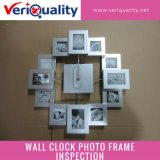 Wall Clock Photo Framequality Control Inspection Service at Zhangzhou, Fujian