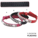 Luxury PU Pet Collar for Cat (YL82442)