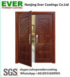 Security Door Sublimation Heat Transfer Print Wood Finish Polyester Powder Coating Powder Paint