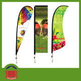 Cheap Polyester Advertising Flag for Promotion