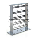 Two Side Slatwall Sock Display Stand Store Fixtures