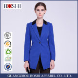 2016 Fashion Ladies Black Suit Tailored Woman Work Suit