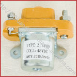 Wholesale 48V 100A DC Forward Reverse Contactor for Electric Vehicle Zj100d