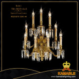 Classical Crystal Brass Wall Light (TB-0819-6+3)