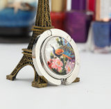 Round Folding Purse Handbag Hanger Hook Holder with Keychain