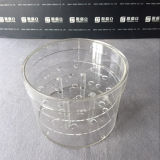 Luruxy Long Packaging Wholesale Round Acrylic Flower Box