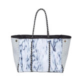 Marble Neoprene Tote with Free Purse (HWC912-33)