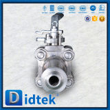 Didtek Butt Weld Forged F304 Ball Valve with Nipple End