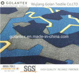 Gl4211 Nylon Fabric with Puzzle Print