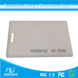 RFID Thick Clamshell Card 125kHz Read Only Proximity Access Card