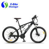 26 Inch Aluminum Frame Electric Assist Mountain Bike with Rear Shocks