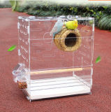 Custom Clear Acrylic Parrot Bird Cage