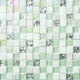 Hot Sale Mixed Color Crystal Glass Mosaic for Swimming Pool Price in Thickness