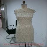 2PCS Set Sexy Silk Evening Dress Final Random Inspection/Pre-Shipment Quality Control in Panyu Factory