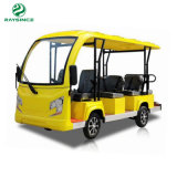 Raysince Sc-3320 Electric Tourist Sightseeing Car Operated Battery Shuttle Classice Vechile with 11 Seats