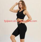 Fashion Summer Two-Piece Shorts Bra Women Sportswear Set