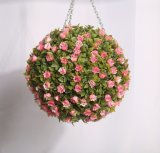 High Quality Cheap Outdoor Hanging Colourful Decoration Round Plastic Artificial Ball