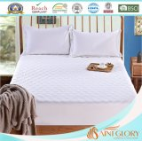 Fiber Ball White Synthetic Polyester Microfibre Mattress Pad