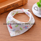 2017 Promotional Good Price Best Quality Cotton Baby Bandana Bibs