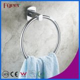Fyeer Solid Brass Chrome Plated Towel Ring