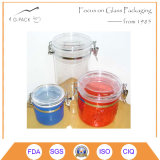 Colorful Plastic Biscuit Container with Airtight Seal