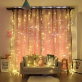 China Supplier 8 Mode 3X2m 6X4m LED Curtain String Light