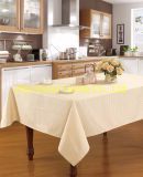 Jacquard Tablecloth Polyester or Polyester Cotton
