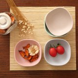 SGS Approved Eco Bamboo Fiber Kitchenwareware Bowl (YK-B3004)