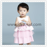 Children Clothing Sleeveless Lovely Cute Fashion Kids Clothes Tulle Dress for Baby Girl