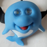 Cute Dolphin Vinyl Animal Headlamp with Cheap Price (21-2F1708)