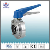Stainless Steel Manual Welded Butterfly Valve (DN11851-No. RD1105)