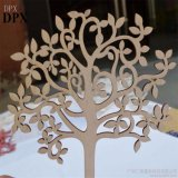 Decoration Home Decoration Christmas Decoration Wood Crafts Blank Wooden Tree Embellishments for DIY Crafts Embellishments
