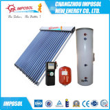 Split Active Heat Pipe Solar Water Heating System for Green Home