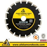 Laser Welded Saw Blade for Cutting Asphalt