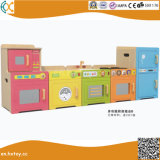 Children Educational Role Play Toys Wooden Kitchen Play Set