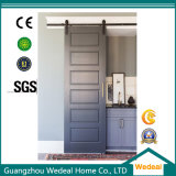 Factory Customize Six Panel Sliding Barn Door with Hardware