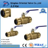 High Quality Fashion Design Pn25 Safe Brass Water Ball Valve for You