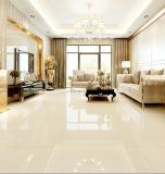 Yellowish Porcelain Polished Tile Crystal Double Loading Floor and Wall Tile with Good Price