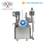 Bespacker XBG-900C Automatic rotary coffee Nespresso and K cup filling and sealing packing machine