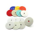 "4"" Diamond Wet Grinding Disc Flexible Polishing Pad"