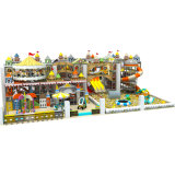 Soft Play Kids Indoor Playground, Indoorplayground Amusement Park with Trampoline